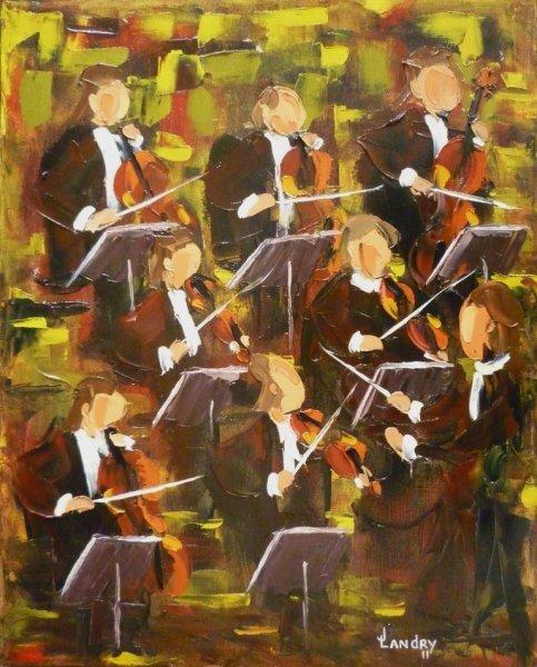 2011-11 Imprégné (20x16),  Huile à la spatule, Vendu