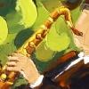 2011-09 Inspiré (6x12), Huile à la spatule, Vendu
