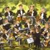 2011-10 Allégresse (10x20), Huile à la spatule, Vendu