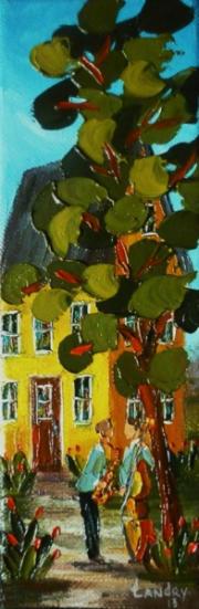 2013-05-17 Endiablé (9 x 3), Huile à la spatule, Vendu