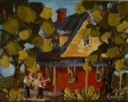 2012-11, Bienvenue, (5x4) Huile à la spatule, Vendu