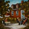 2012-11, L'Espace d'un Moment, (30x40) Huile à la spatule, Vendu