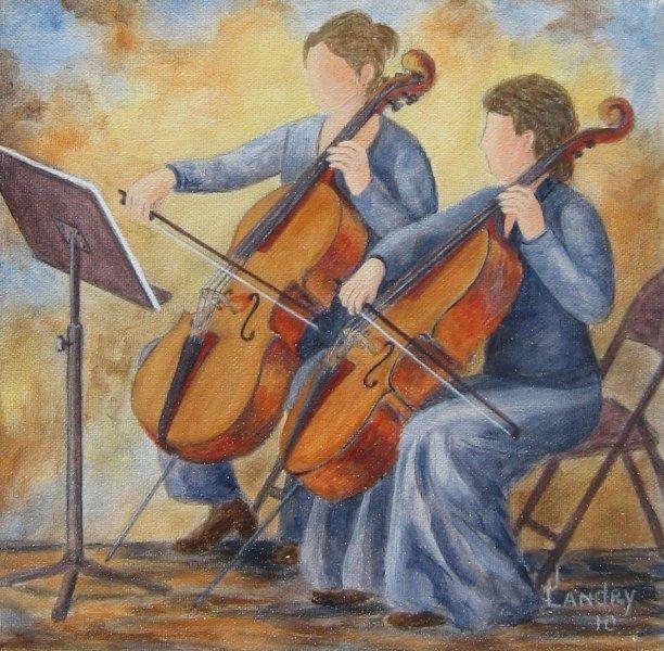 Envoûtant (8x8) acrylique sur toile, Vendu