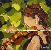 2011-11 En beauté (5x5),  Huile à la spatule, Vendu