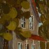 2012-10 En passant, (12x4), Huile à la spatule, Vendu