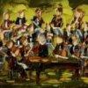 2012-11, Mini-Concert, (3x5) Huile à la spatule, Vendu